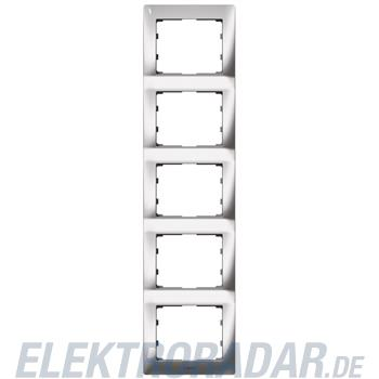Legrand 771939 Rahmen 5-fach senkrecht Galea silver chrome