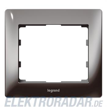 Legrand 771941 Rahmen 1-fach Galea black chrome