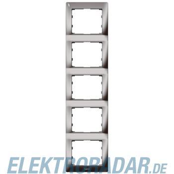 Legrand 771949 Rahmen 5-fach senkrecht Galea black chrome
