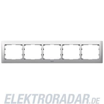 Legrand 771955 Rahmen 5-fach waagerecht Galea brushed aluminium