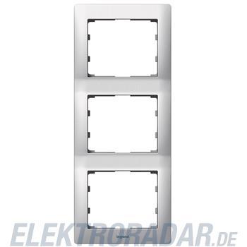Legrand 771957 Rahmen 3-fach senkrecht Galea brushed aluminium