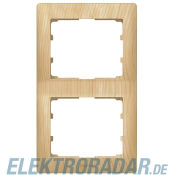 Legrand 771966 Rahmen 2-fach senkrecht Galea ahorn