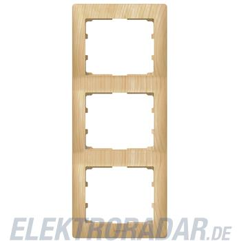 Legrand 771967 Rahmen 3-fach senkrecht Galea ahorn