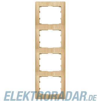 Legrand 771968 Rahmen 4-fach senkrecht Galea ahorn