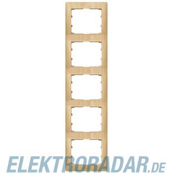 Legrand 771969 Rahmen 5-fach senkrecht Galea ahorn