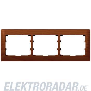 Legrand 771973 Rahmen 3-fach waagerecht Galea kirsche