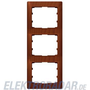 Legrand 771977 Rahmen 3-fach senkrecht Galea kirsche