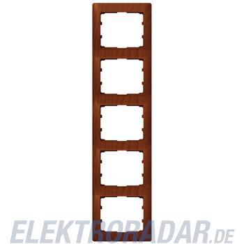 Legrand 771979 Rahmen 5-fach senkrecht Galea kirsche