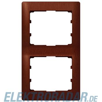 Legrand 771986 Rahmen 2-fach senkrecht Galea mahagoni