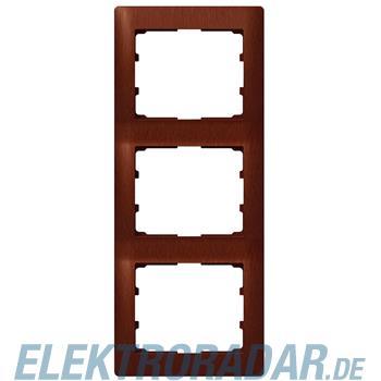Legrand 771987 Rahmen 3-fach senkrecht Galea mahagoni