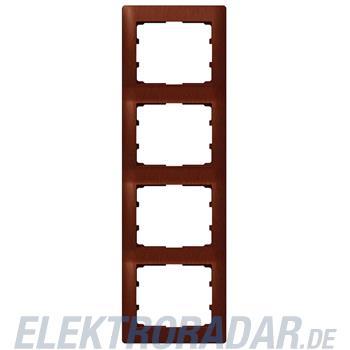 Legrand 771988 Rahmen 4-fach senkrecht Galea mahagoni