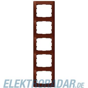 Legrand 771989 Rahmen 5-fach senkrecht Galea mahagoni