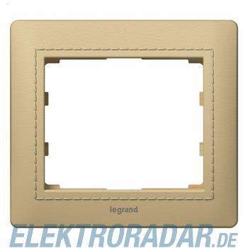 Legrand 771990 Rahmen 1-fach Galea leder havanna