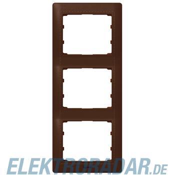 Legrand 771999 Rahmen 3-fach senkrecht Galea leder style