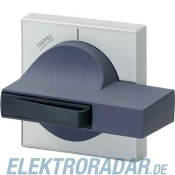 Siemens Knebel schwarz, Blende gra 8UC7110-1BB