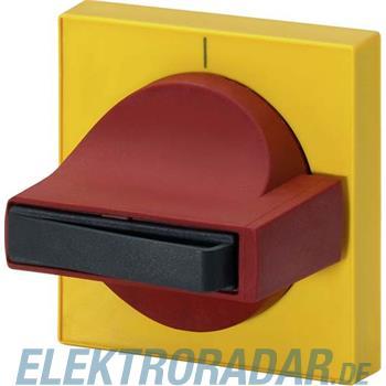 Siemens Knebel rot, Blende gelb Er 8UC7120-3BB