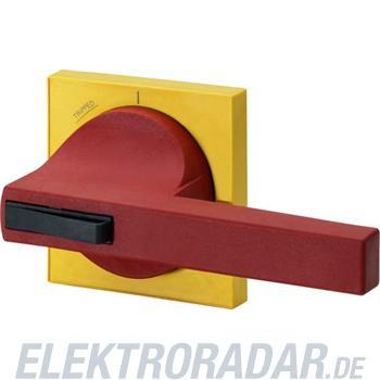 Siemens Knebel rot, Blende gelb Er 8UC7320-8BD