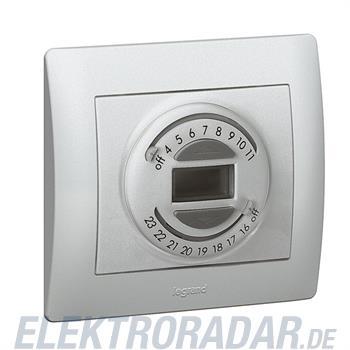Legrand 775697 Einsatz Rollladenuhr 3-Leiter Galea softaluminium