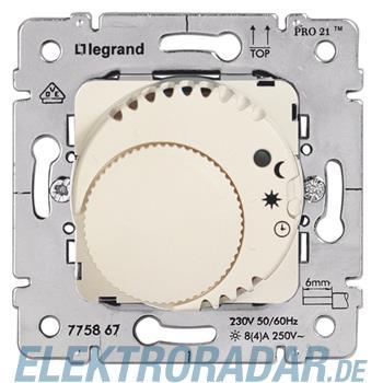 Legrand 775867 Einsatz Raumthermostat Komfort ultraweiss