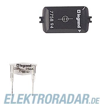 Legrand 775894 Glimmaggregat 230V~/ 0,5 mA gruen