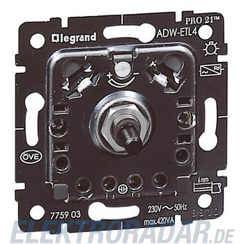 Legrand 775903 Einsatz Dimmer mit Druck-WechselschalterADW-ETL4 4
