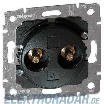 Legrand 775988 Einsatz Doppelpotentialausgleich-Steckdose