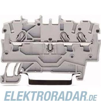 WAGO Kontakttechnik 3L-Durchgangsklemme 2000-1306