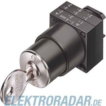 Siemens Schlüsselschalter 3SB3000-4LD01-Z Y01