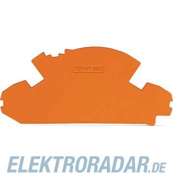 WAGO Kontakttechnik Abschlussplatte 2007-8892