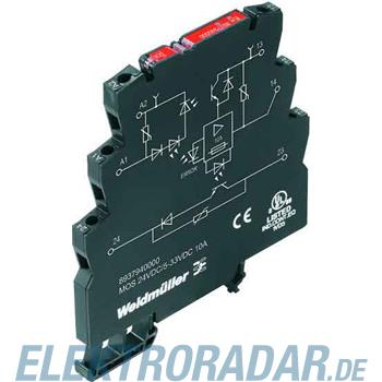 Weidmüller Solid-State-Relais MOS24VDC/533VDC10A
