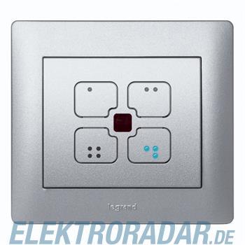Legrand 781329 Wippe IOBL Szenenschalter Galea soft aluminium