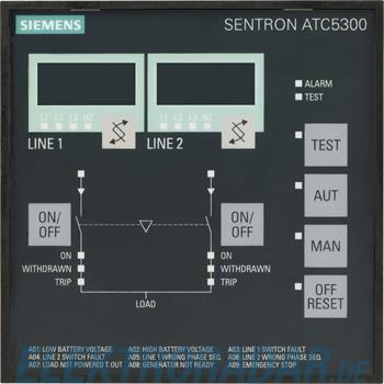 Siemens Netzumschaltsteuergerät 3KC9000-8TL30