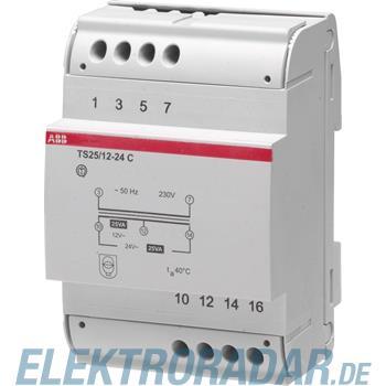 ABB Stotz S&J Sicherheitstransformator TS 25/12-24 C