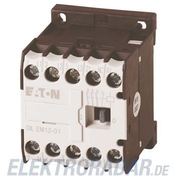 Eaton Leistungsschütz DILEM12-01-G(24VDC)