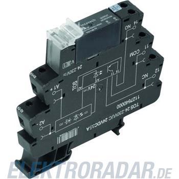 Weidmüller Optokoppler TOS24230VUC24VDC3,5A