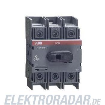 ABB Stotz S&J Lasttrennschalter OT125F3