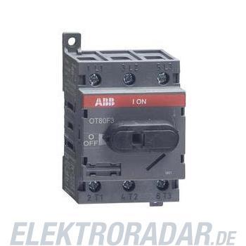 ABB Stotz S&J Lasttrennschalter OT80F3