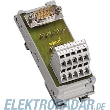 WAGO Kontakttechnik Übergabebaustein 289-722