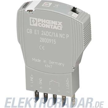 Phoenix Contact Geräteschutzschalter CB E1 24DC/1A NC P