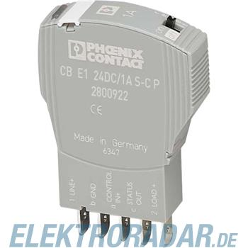Phoenix Contact Geräteschutzschalter CB E1 24DC/1A S-C P