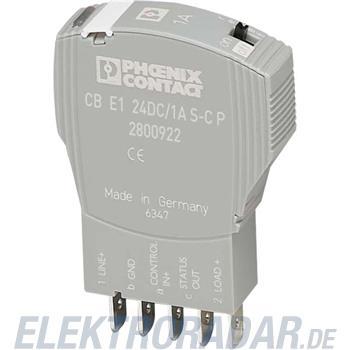 Phoenix Contact Geräteschutzschalter CB E1 24DC/2A S-C P