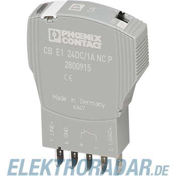 Phoenix Contact Geräteschutzschalter CB E1 24DC/3A NC P