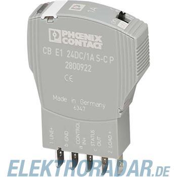 Phoenix Contact Geräteschutzschalter CB E1 24DC/3A S-C P