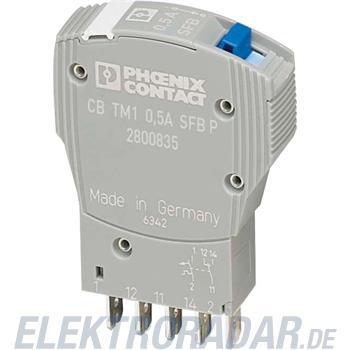 Phoenix Contact Geräteschutzschalter CB TM1 0.5A SFB P