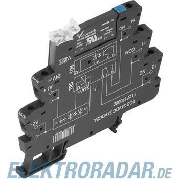 Weidmüller Optokoppler TOS 120VUC 24VDC2A