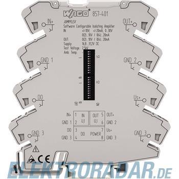 WAGO Kontakttechnik Trennverstärker 857-401