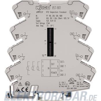 WAGO Kontakttechnik Temperaturmessumformer 857-801