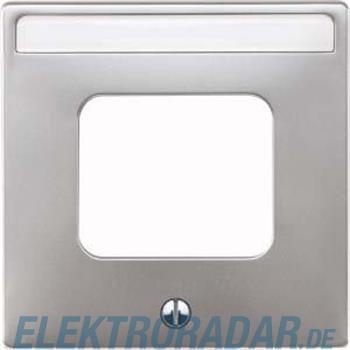 Merten Zentralplatte alu 461660