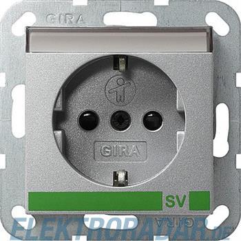 Gira Schuko-Steckdose SV alu 043826