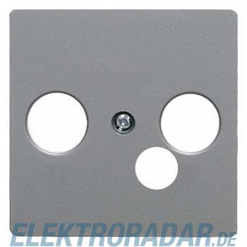 Berker Zentralplatte alu 14391404